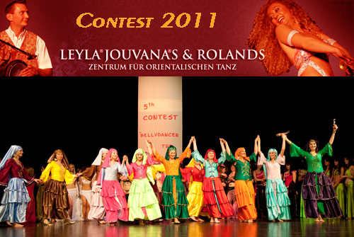 "26.11.11 Contest ""Bellydancer of the World"""